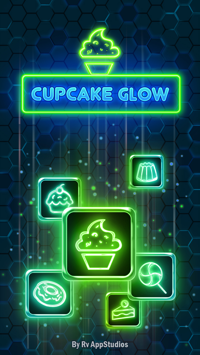 Cupcake Glow Android App