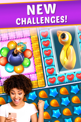 Balloon Paradise - Free Match 3 Puzzle Game - 3