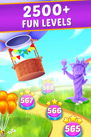 Balloon Paradise - Free Match 3 Puzzle Game - 5