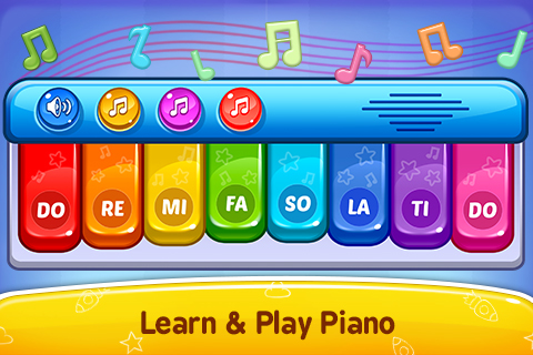 Baby Games - Piano, Baby Phone, First Words Android App