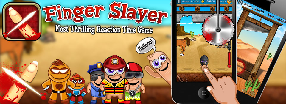 Finger Slayer Android App